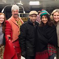 RS1 Amin Bhatia, Amybeth McNulty, Philip Williams, Ari Posner, Naledi Jackson, and Amy Wright